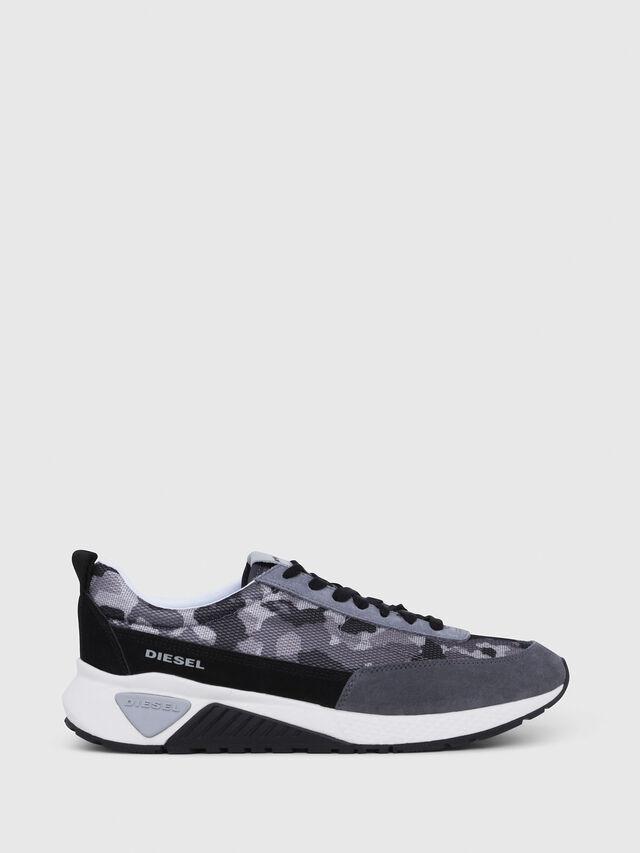 Diesel - S-KB LOW LACE, Gris/Negro - Sneakers - Image 1