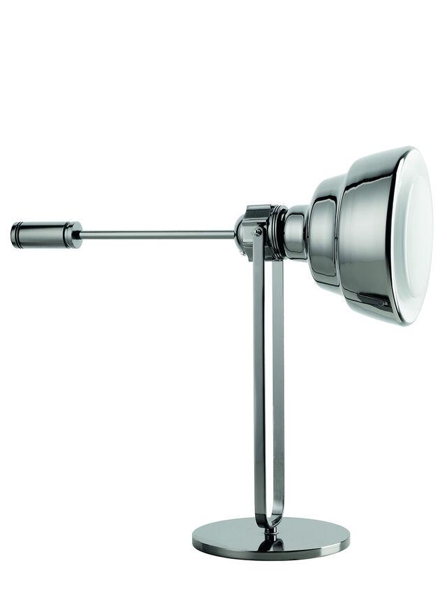 Diesel - GLAS TAVOLO CROMO, Plata - Lámparas de Sombremesa - Image 1