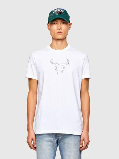 Diesel - CL-T-DIEGOS-O2, Blanco - Camisetas - Image 1