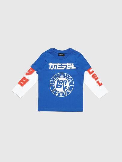 Diesel - TUCOB-R, Azul - Camisetas y Tops - Image 1