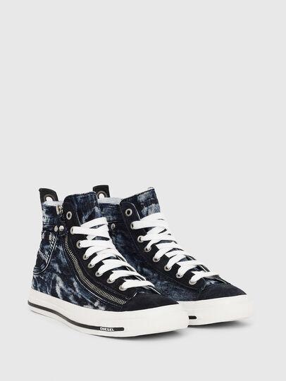 Diesel - EXPO-ZIP W, Azul Oscuro - Sneakers - Image 2