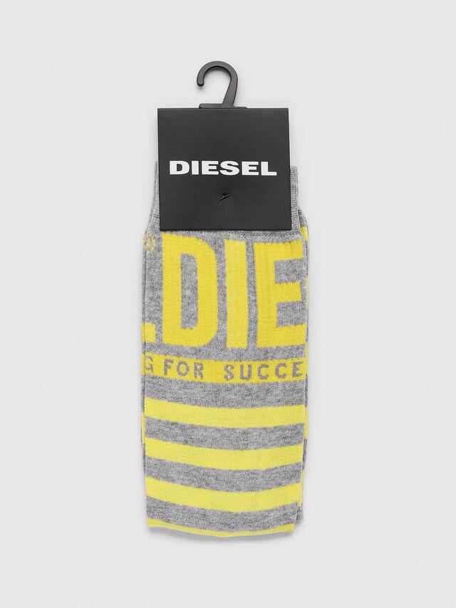 Diesel - SKM-RAY, Gris - Calcetines - Image 2