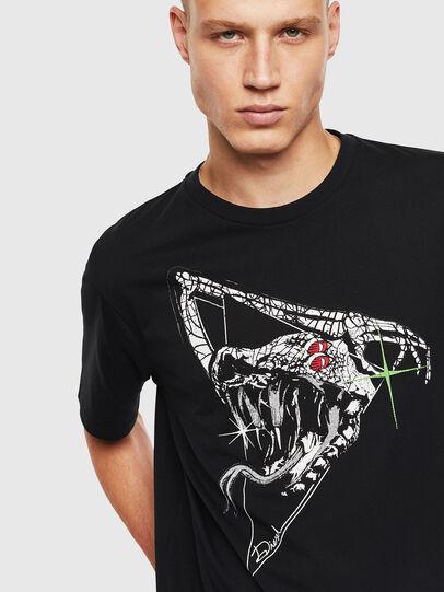 Diesel - T-JUST-J15, Negro - Camisetas - Image 3