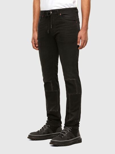 Diesel - Thommer JoggJeans 009IC, Negro/Gris oscuro - Vaqueros - Image 6