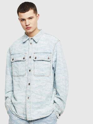 D-JESSY, Azul Claro - Camisas de Denim