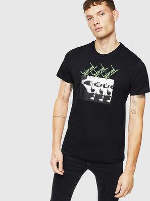 T-DIEGO-J12, Negro - Camisetas