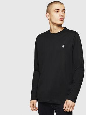 T-JUSTY-LS, Negro - Camisetas