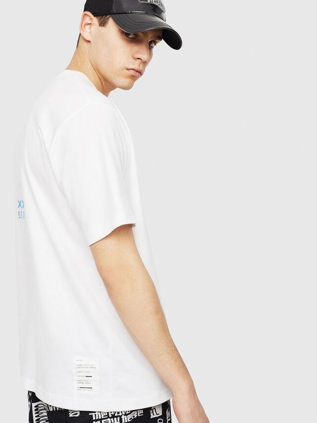 Diesel - T-JUST-Y23, Blanco - Camisetas - Image 3