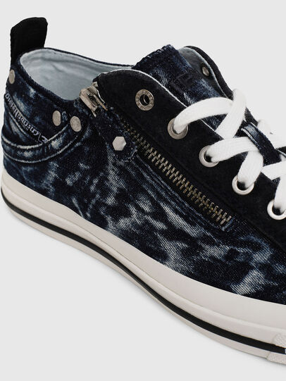Diesel - EXPO-ZIP LOW W, Azul Oscuro - Sneakers - Image 4