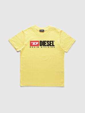 TJUSTDIVISION, Amarillo - Camisetas y Tops