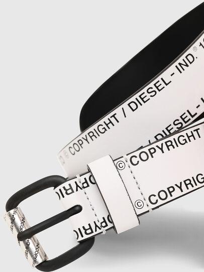 Diesel - B-FULCOPY, Blanco/Negro - Cinturones - Image 2