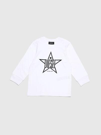 Diesel - TDIEGOYHB-ML-R, Blanco - Camisetas y Tops - Image 1