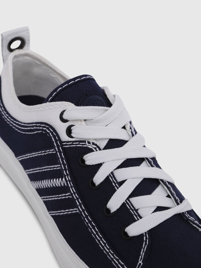 Diesel - S-ASTICO LOW LACE W, Azul/Blanco - Sneakers - Image 5