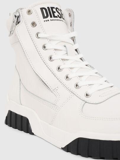 Diesel - S-RUA MID, Blanco - Sneakers - Image 4
