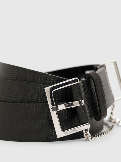 Diesel - B-MALIER, Negro - Cinturones - Image 4