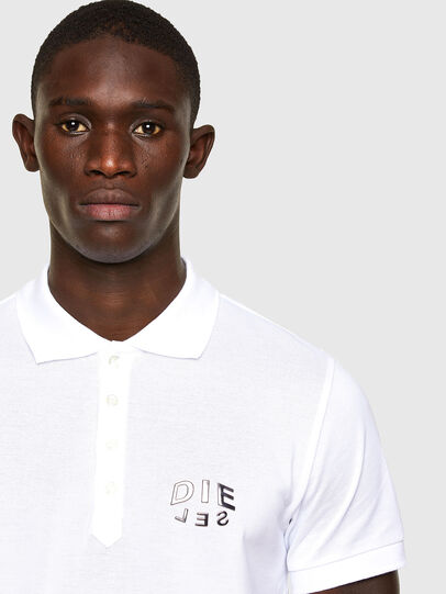 Diesel - T-RANDY-NEW-A2, Blanco - Polos - Image 2