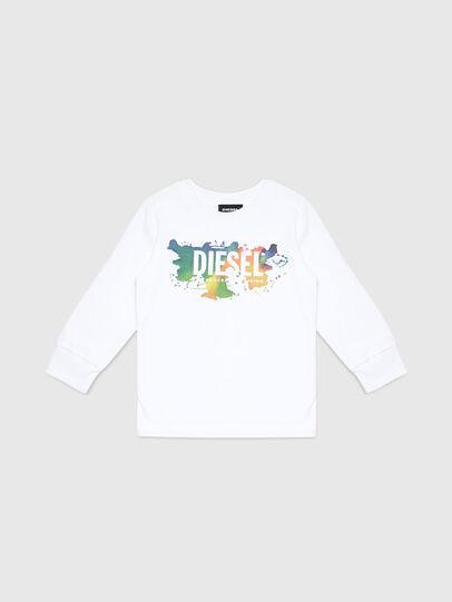 Diesel - TDOSKYB ML-R, Blanco - Camisetas y Tops - Image 1