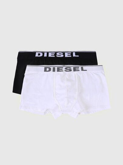 Diesel - UMBX-DAMIENTWOPACK, Negro/Blanco - Boxers - Image 1