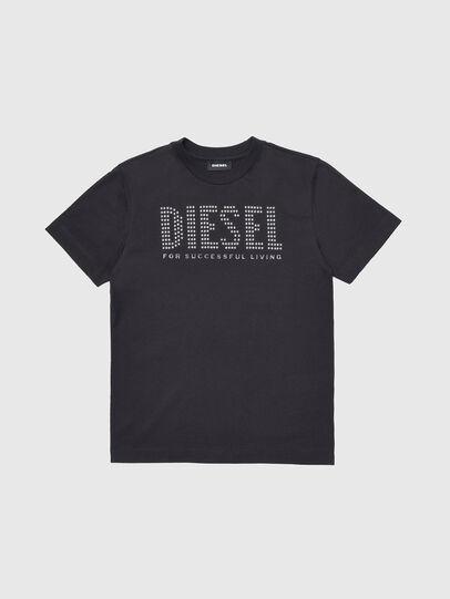 Diesel - TABEL, Negro - Camisetas y Tops - Image 1