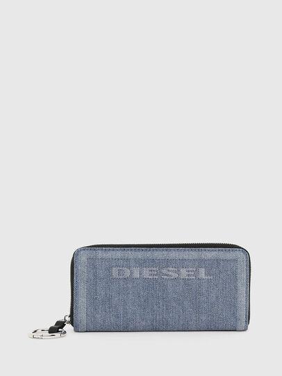 Diesel - GRANATO LC, Blue Jeans - Carteras Con Cremallera - Image 1