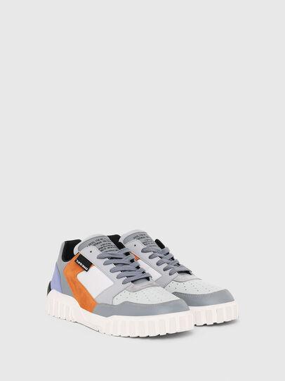 Diesel - S-RUA LOW90, Gris - Sneakers - Image 2