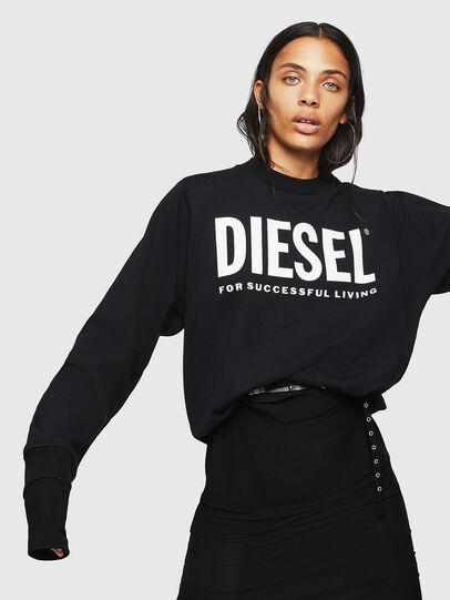 Diesel - F-ANG, Negro - Sudaderas - Image 4