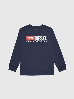 TJUSTDIVISION ML, Azul Oscuro - Camisetas y Tops