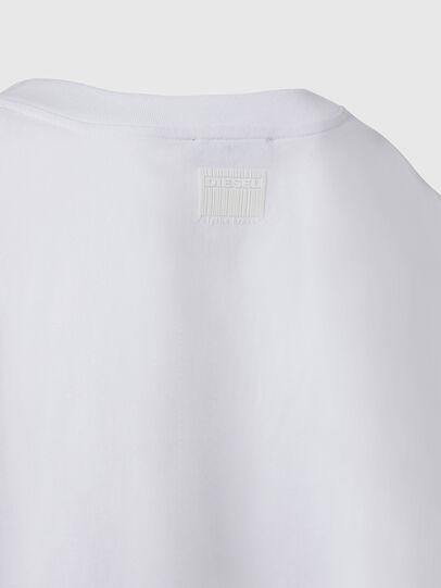 Diesel - T-CRAMBLE, Blanco - Camisetas - Image 4