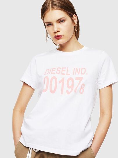 Diesel - T-SILY-001978, Blanco - Camisetas - Image 1