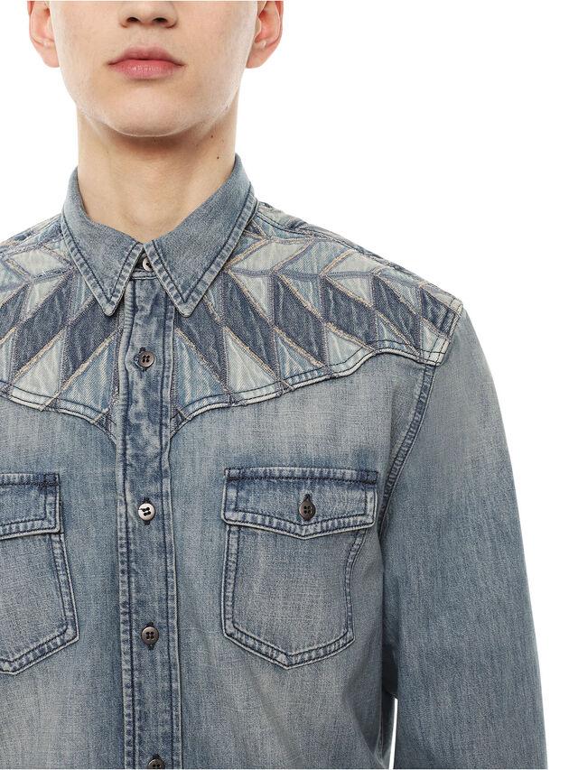Diesel - SULLYVAN, Blue Jeans - Camisas - Image 3