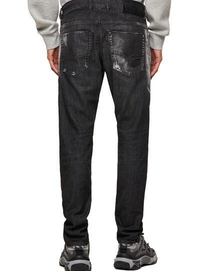 Diesel - Krooley JoggJeans® 09B53, Negro/Gris oscuro - Vaqueros - Image 2