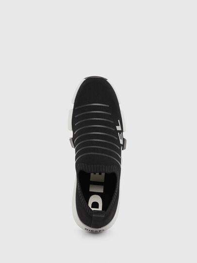 Diesel - H-PADOLA LOW SOCK, Negro - Sneakers - Image 5