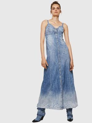 DE-ARIN, Azul Claro - Vestidos