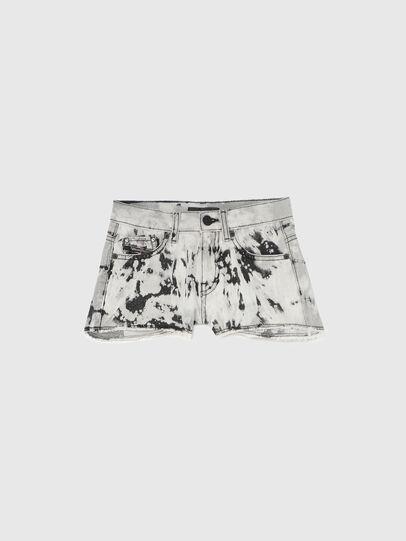 Diesel - PRIFTY, Blanco/Negro - Shorts - Image 1
