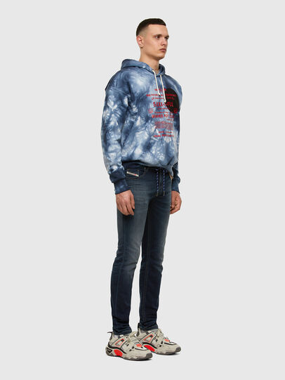 Diesel - Thommer JoggJeans® 069NE, Azul Oscuro - Vaqueros - Image 5