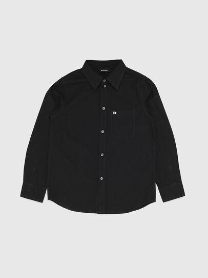 Diesel - CSMOI, Negro - Camisas - Image 1