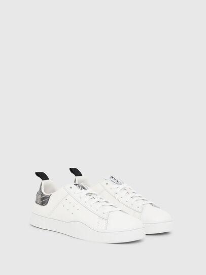 Diesel - S-CLEVER LOW W, Blanco/Plateado - Sneakers - Image 2