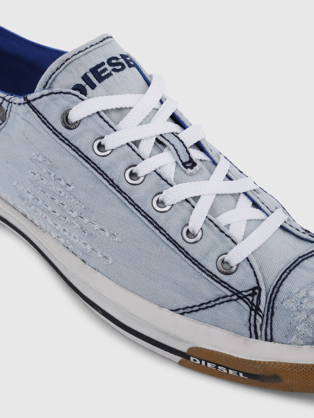 Diesel - EXPOSURE LOW I, Azul Claro - Sneakers - Image 4