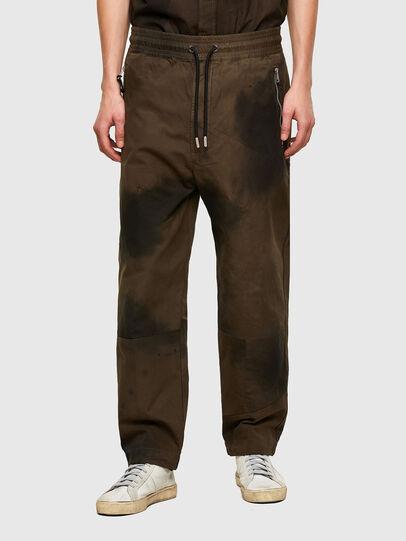 Diesel - P-HILL, Verde Militar - Pantalones - Image 1