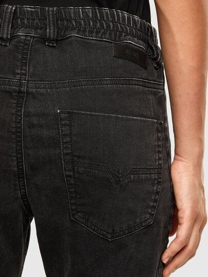Diesel - Krailey JoggJeans 009FY, Negro/Gris oscuro - Vaqueros - Image 4