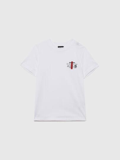 Diesel - UMLT-TDIEGOS, Blanco - Camisetas y Tops - Image 1