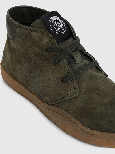 Diesel - H-CLEVER PAR DESERT, Verde - Sneakers - Image 4