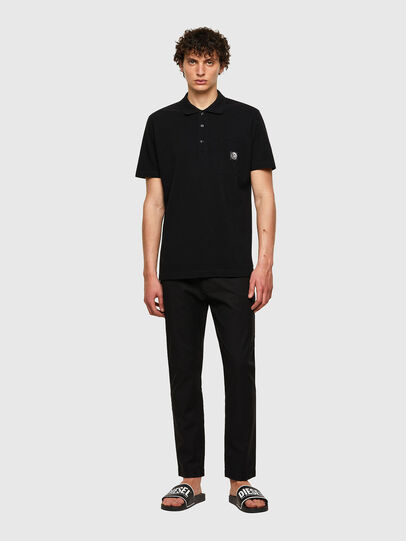 Diesel - T-POLO-WORKY, Negro - Polos - Image 4