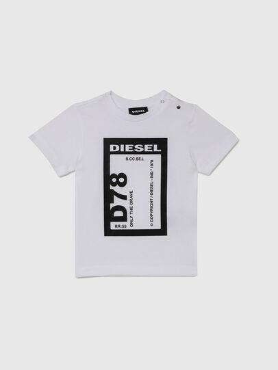 Diesel - TFULL78B, Blanco - Camisetas y Tops - Image 1