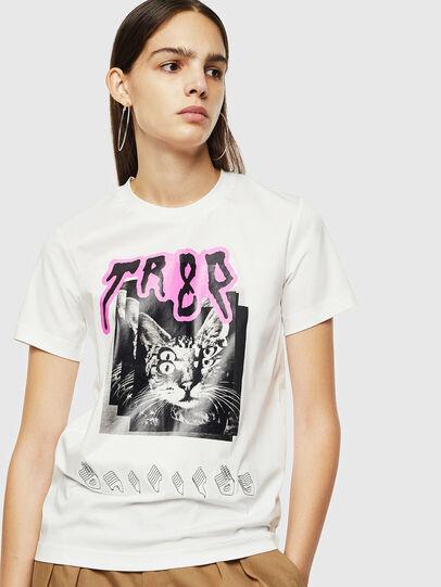 Diesel - T-SILY-YC, Blanco - Camisetas - Image 1