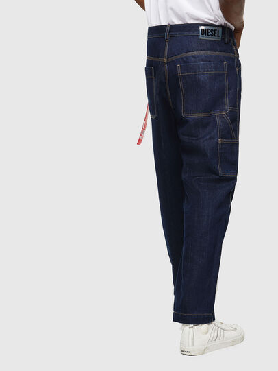 Diesel - CC-D-FRANK, Azul Oscuro - Pantalones - Image 4