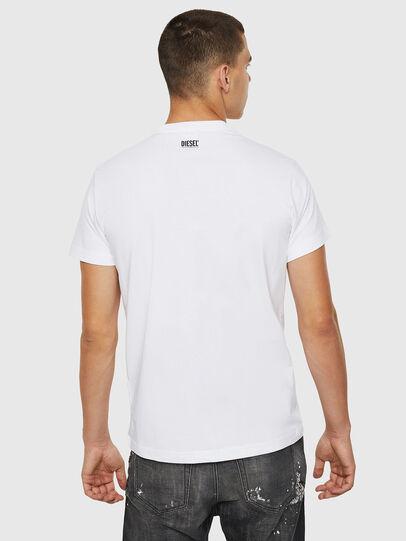 Diesel - T-DIEGO-B12, Blanco - Camisetas - Image 2