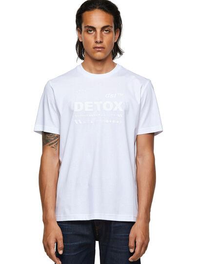 Diesel - T-JUST-B63, Blanco - Camisetas - Image 1