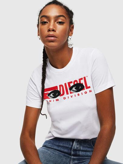 Diesel - T-SILY-YD, Blanco - Camisetas - Image 4