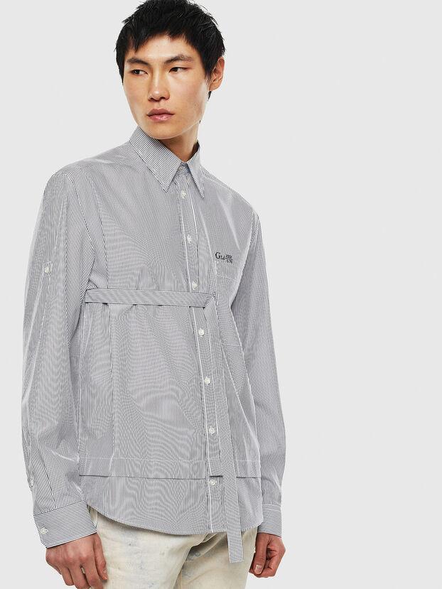 S-GARNET, Blanco/Negro - Camisas